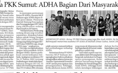 Audiensi Yayasan Medan plus bersama FP ADHA